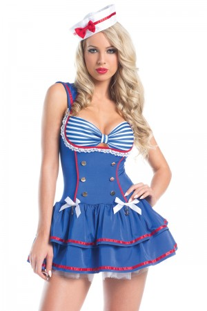 Be Wicked On Deck Sailor Costume