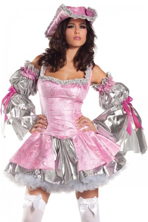 Be Wicked Pink Antoinette Costume