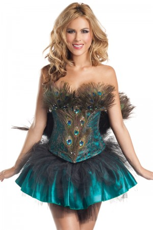 Be Wicked Princess Peacock Costume