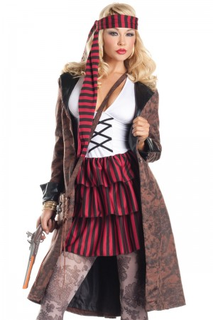 Be Wicked Provocative Pirate Costume
