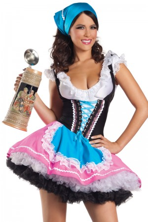 Be Wicked Sexy Beer Girl Costume