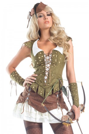 Be Wicked Sherwood Beauty Costume