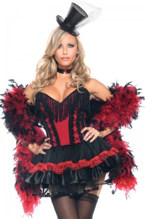 Be Wicked Speak Easy Saloon Girl Costume