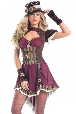 Be Wicked Steam Punk Rider Costume