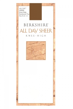 Berkshire All Day Sheer Knee High Reinforced Toe