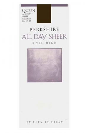 Berkshire Queen All Day Sheer Knee High Sandalfoot
