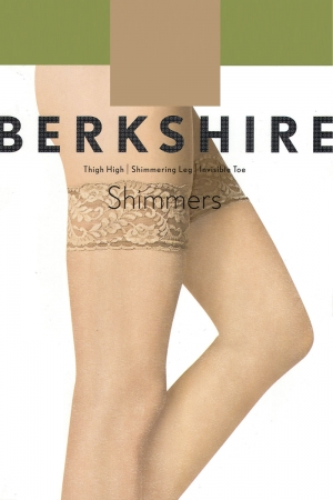 Berkshire Shimmers Thigh High Shimerring Leg Invisible Toe