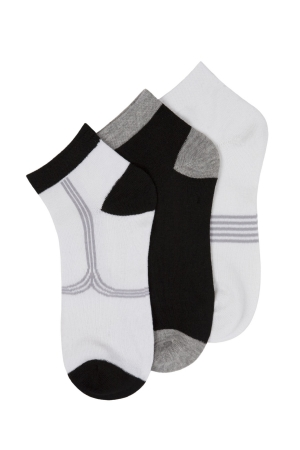Beverly Hills Polo Club Low-Cut Men's Socks - 3 Pairs
