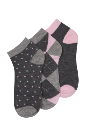 Beverly Hills Polo Club Low-Cut Women's Socks - 3 Pairs