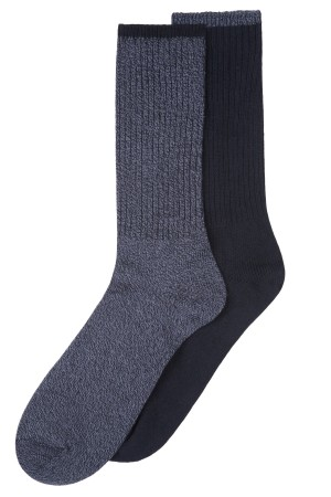 Beverly Hills Polo Club Men's Dress Socks - 2 Pairs
