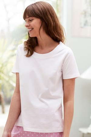 Bonsoir of London Scoop Neck T-Shirt