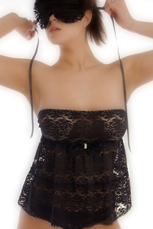 Bracli Picaras Lace Babydoll with Pearls