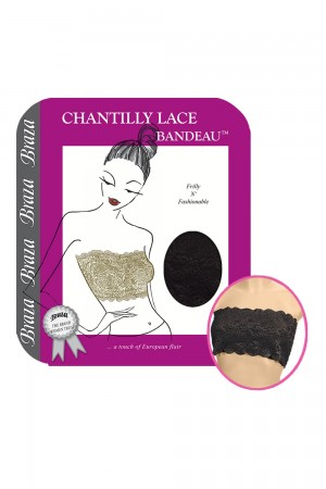 Braza Chantilly Lace Bandeau