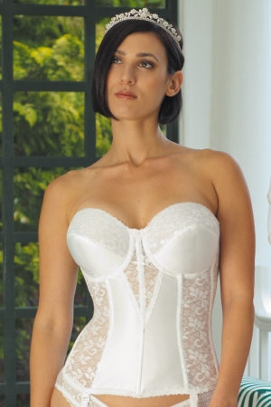Carnival Lace Full Coverage Torsolette