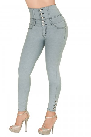 Classic Shapewear Butt Lift High Rise Skinny Jeans