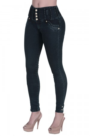 Classic Shapewear Butt Lift Jeans Balanced Look
