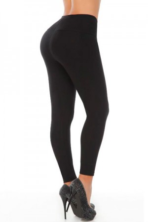 Classic Shapewear Butt Shaping Black Leggings