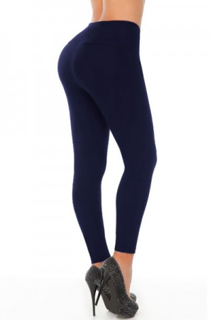 Classic Shapewear Butt Shaping Navy Leggings
