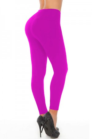Classic Shapewear Butt Shaping Pink Leggings