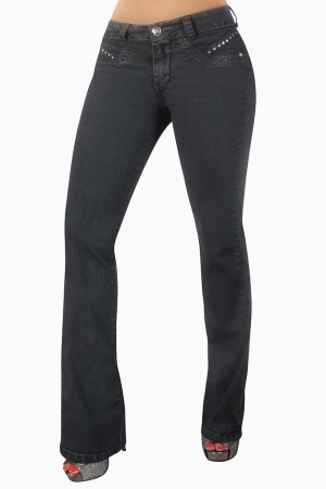 Classic Shapewear High Rise Bootcut Jeans