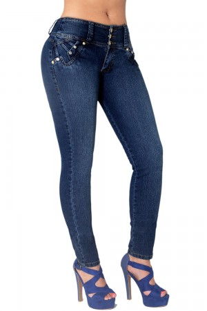 Classic Shapewear High Rise Butt Lift Skinny Jeans