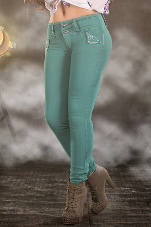 Classic Shapewear High Rise Buttocks Enhancer Skinny Jeans