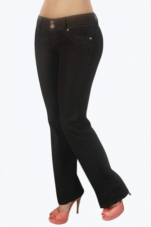 Classic Shapewear High Rise Control Bootcut Jeans