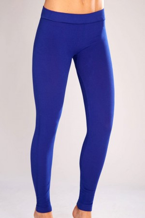 Classic Shapewear Twill Cotton Cobalt Leggings