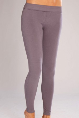 Classic Shapewear Twill Cotton Gray Leggings