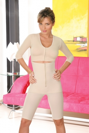 Co'Coon Full Body Powernet Bra-Sleeves