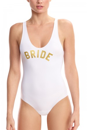 Commando Bridal Applique Bodysuit