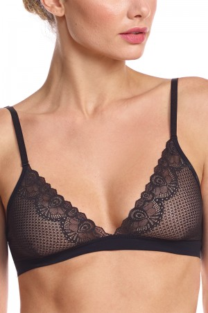 Commando Perfect Stretch Lace Bralette