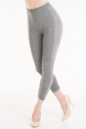 Connection 18 Leggings with Polka Dot Side Detailing