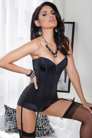 Coquette Stretch Knit Corset