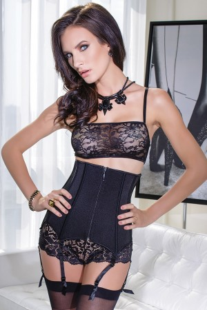 Coquette Stretch Knit Waist Cincher