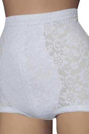 Cortland Intimates High Waist Control Lace Brief