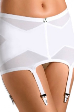 Cortland Intimates Six Straps Garter Belt Girdle