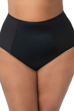 Curvy Couture Diamond High Waist Panty