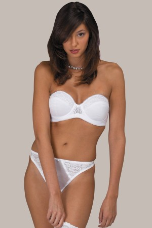 Dominique Full-Figure Strapless Bra