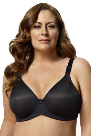 Elila Microfiber Molded Underwired Bra
