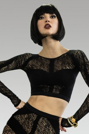 Erica M. Karina Crop Top
