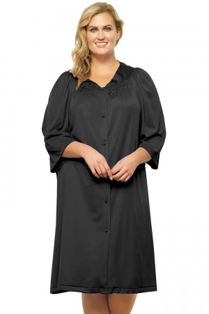 Exquisite Form Button Front Robe