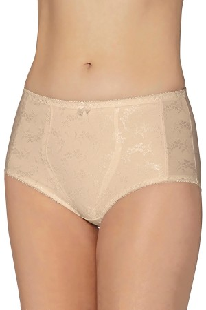 Exquisite Form Floral Jacquard Medium Control Shaper Panties 2-Pack
