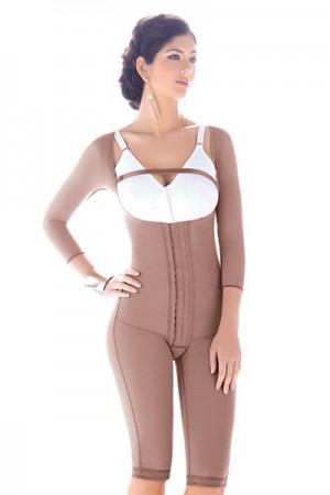 Fajas D'Prada Post Liposuction Girdle with Buttocks Enhancements