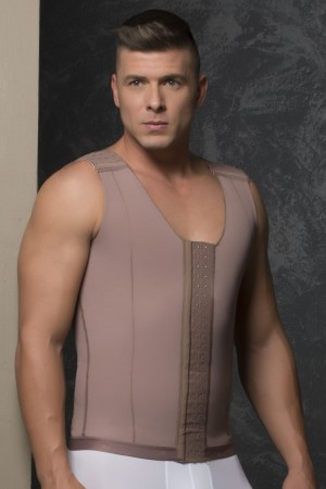Fajas D'Prada Post-Surgical and Abdomen Reduction Male Girdle