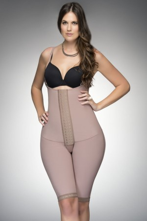 Fajas D'Prada Waist Reducing Girdle with Maximum Compression and High Back