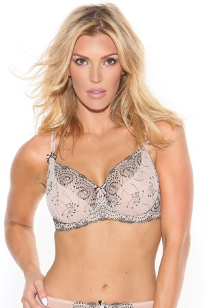 cdb7c1c91b Fit Fully Yours Nicole See-Thru Lace Bra
