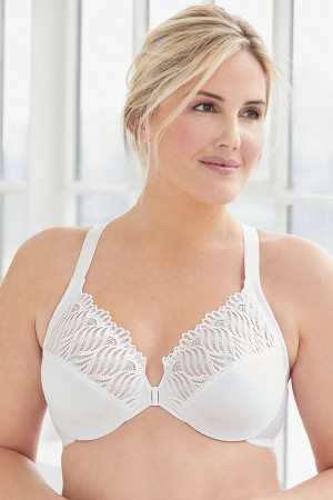 a27bcf8eaa6 Glamorise Front Close T-Back Wonderwire Bra