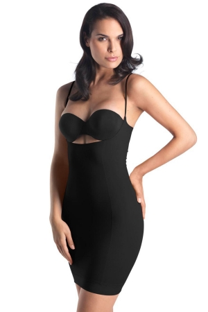 "Hanro ""Natural Shape"" Open Bust Bodydress"
