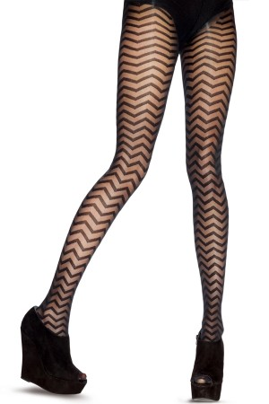 House of Holland for Pretty Polly Chevron Tights